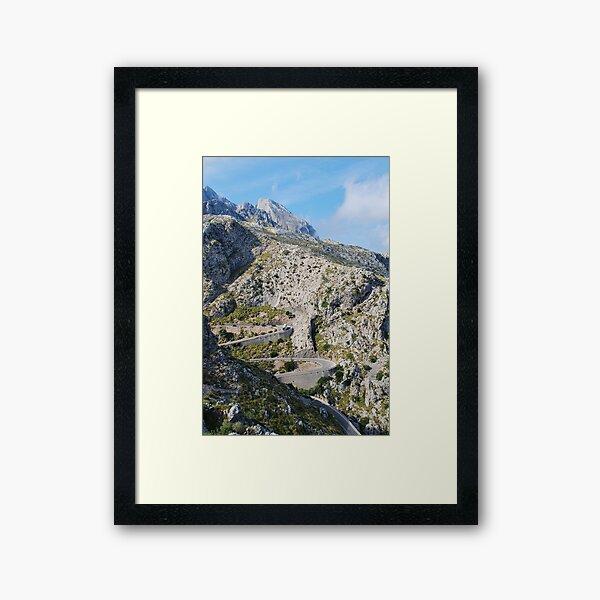 Road to Sa Calobra, Majorca Framed Art Print
