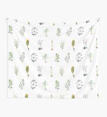 Herbalism Wall Tapestry