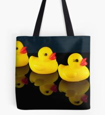 All your ducks in a row Tote Bag