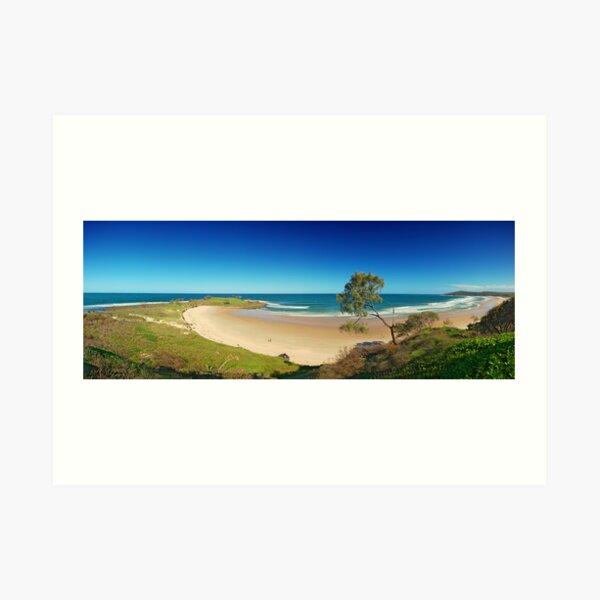 Angourie Beach, New South Wales Art Print