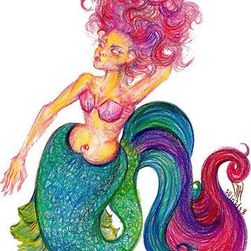 mermaid  by mugs-munny