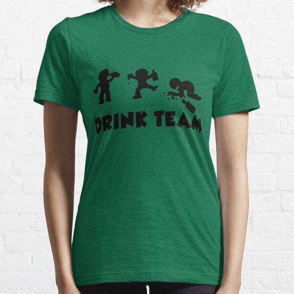 alcool drôle de bande dessinée bachelor party drink équipe T-shirt essentiel