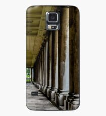 The columns of the Old Naval College in Greenwich, London Case/Skin for Samsung Galaxy
