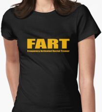 FART Womens Fitted T-Shirt