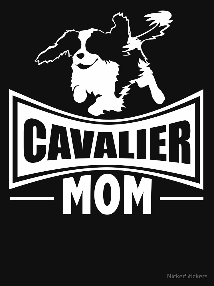 Cavalier Mom | Cavalier King Charles Spaniel | NickerStickers on Redbubble by NickerStickers