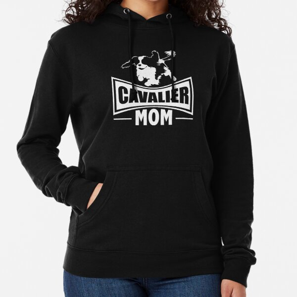 Cavalier Mom | Cavalier King Charles Spaniel | NickerStickers on Redbubble Lightweight Hoodie
