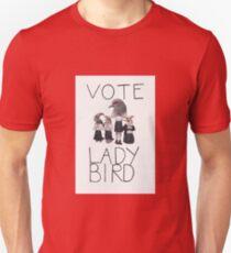 Lady Vogel Poster Slim Fit T-Shirt