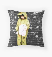 Zombie and Gothic Pt 1 Throw Pillow