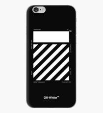 Off-White Diagonals Temperature (Dark) iPhone Case