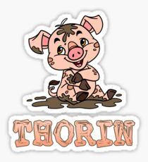 Thorin Piggy Sticker