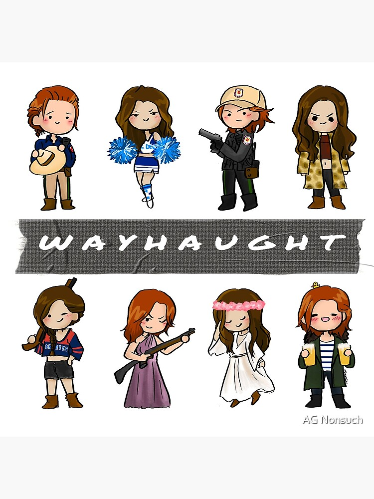 WayHaught Duck Tape by NonsuchTheFirst