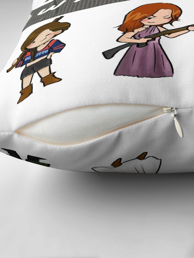 Alternate view of WayHaught Duck Tape Floor Pillow