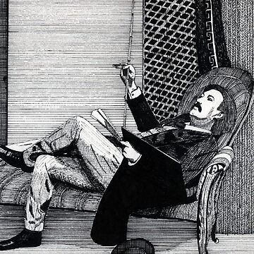 116 - GUSTAVE DORE- DAVE EDWARDS - INK - 1985 by BLYTHART