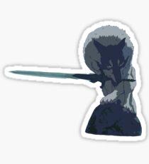 The Great Grey Wolf  Sticker