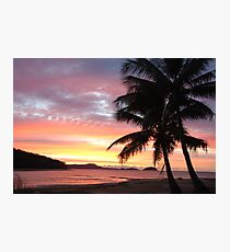 Dunk Island Sunrise Photographic Print