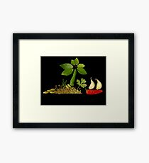 Spice Island Framed Print