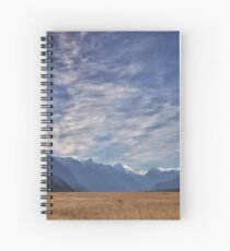 The Road to Milford, New Zealand Spiral Notebook