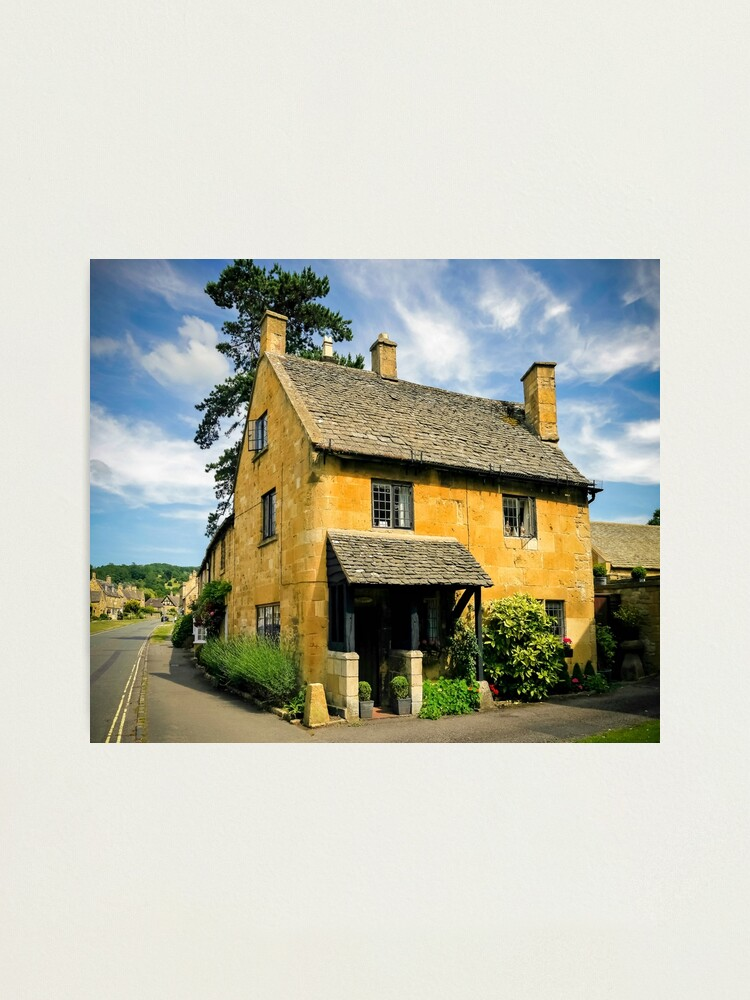 Alternate view of Corner Cottage Photographic Print