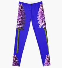 Spotted Orchid,  Donegal as iPhone case Leggings