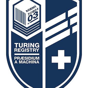 Turing Registry Insignia - Blue by WolfeCreative