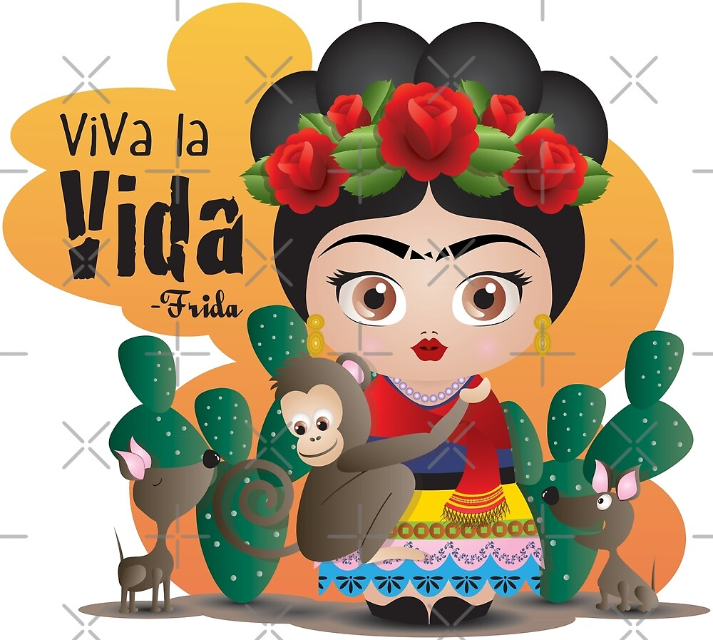 6b91c1ba0c Citas de Frida Kahlo Viva la Vida Mexico» de mimogoshopping