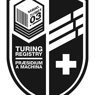 Turing Registry Insignia by WolfeCreative