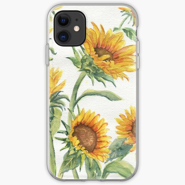 Blooming Sunflowers iPhone Soft Case