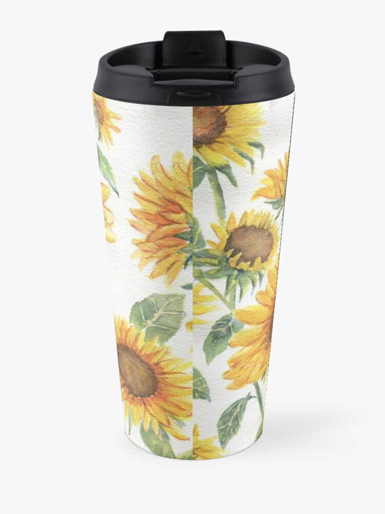 Alternate view of Blooming Sunflowers Travel Mug