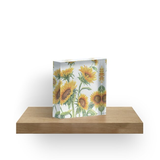 Blooming Sunflowers by Melly Terpening