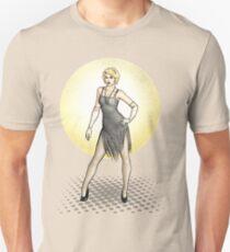 Georgette - 1920s Flapper Showgirl T-Shirt