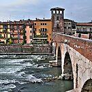 Ponte Pietra ( Stone Bridge) - Verona by paolo1955