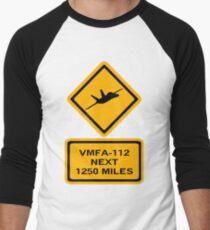 VMFA-112 Men's Baseball ¾ T-Shirt