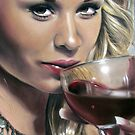 Red Red Wine by Valerie Simms