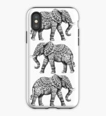 Verzierter Elefant 3.0 iPhone-Hülle & Cover