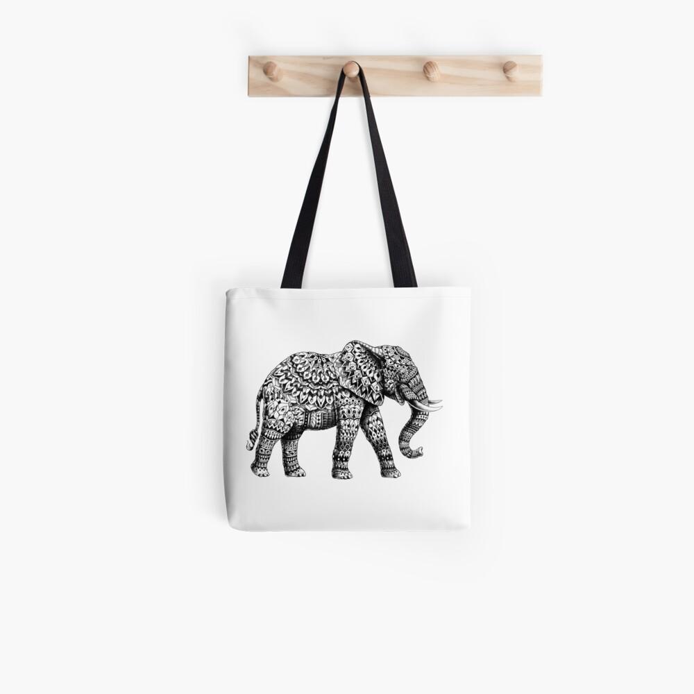 Verzierter Elefant 3.0 Tote Bag