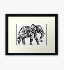 Ornate Elephant 3.0 Framed Print