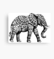 Ornate Elephant 3.0 Canvas Print