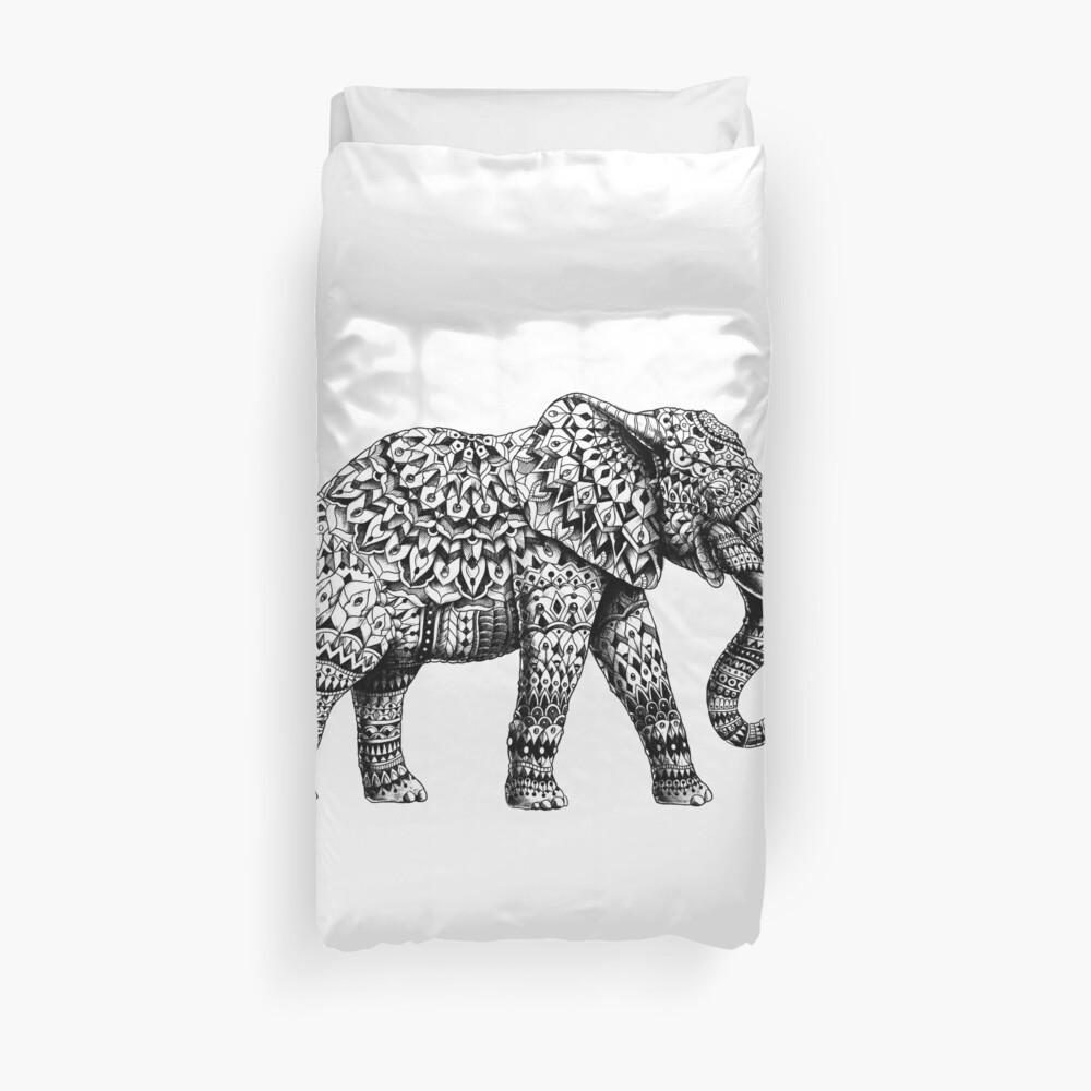 Verzierter Elefant 3.0 Bettbezug