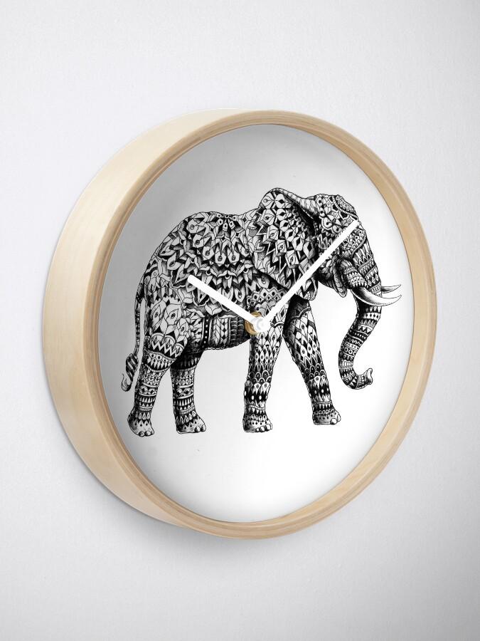 Alternative Ansicht von Verzierter Elefant 3.0 Uhr