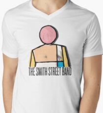 The Smith Street Band :More scared of you than you are of me. Men's V-Neck T-Shirt