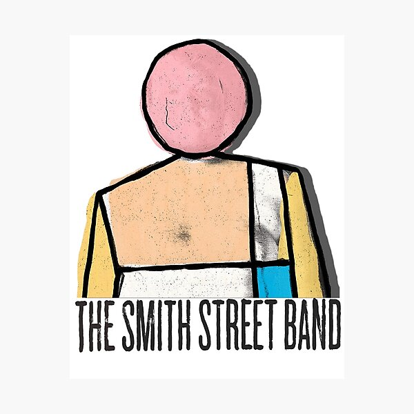 The Smith Street Band :More scared of you than you are of me. Photographic Print