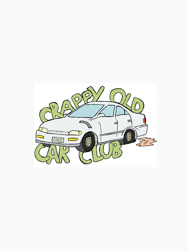 Crappy Old Car Club Mens Premium T Shirt By Pedrao