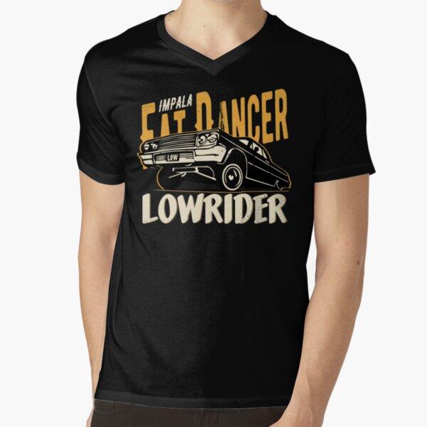 Impala Lowrider - Fat Dancer V-Neck T-Shirt