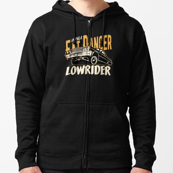 Impala Lowrider - Fat Dancer Zipped Hoodie