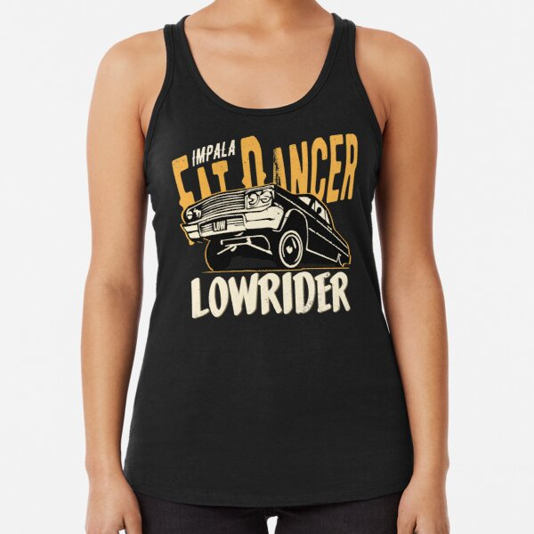 Impala Lowrider - Fat Dancer Racerback Tank Top
