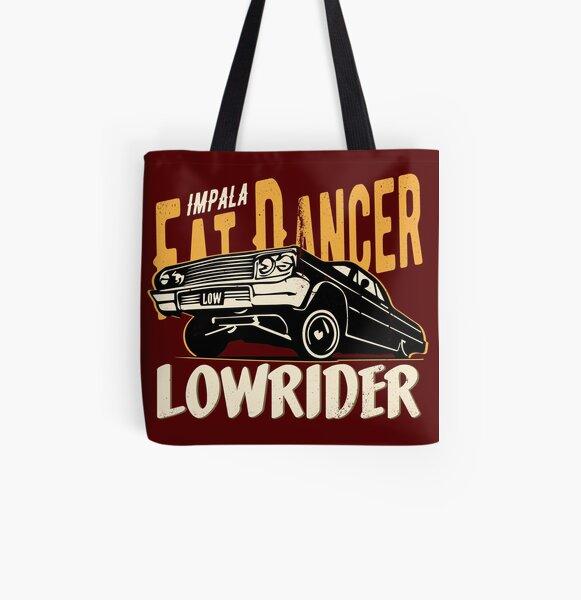 Impala Lowrider - Fat Dancer All Over Print Tote Bag