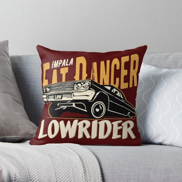 Impala Lowrider - Fat Dancer Throw Pillow