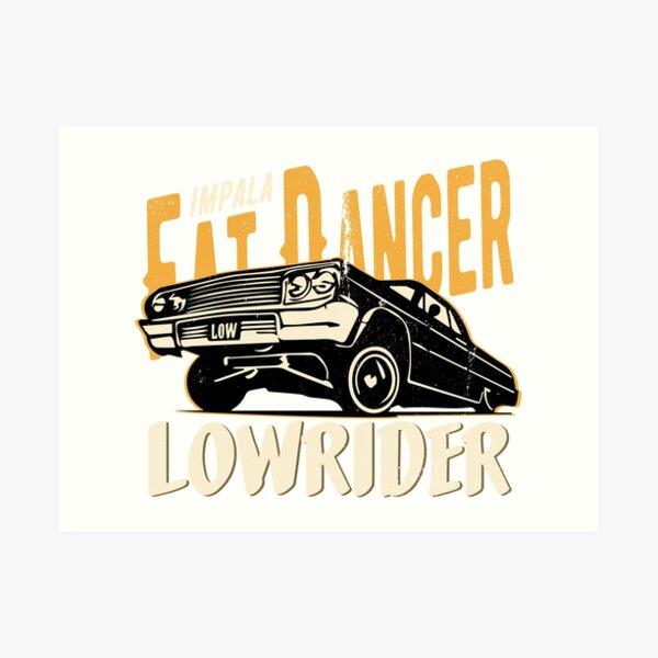 Impala Lowrider - Fat Dancer Art Print