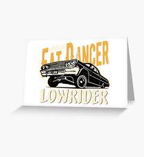 Impala Lowrider - Fat Dancer Grußkarte
