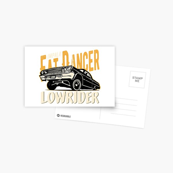 Impala Lowrider - Fat Dancer Postcard